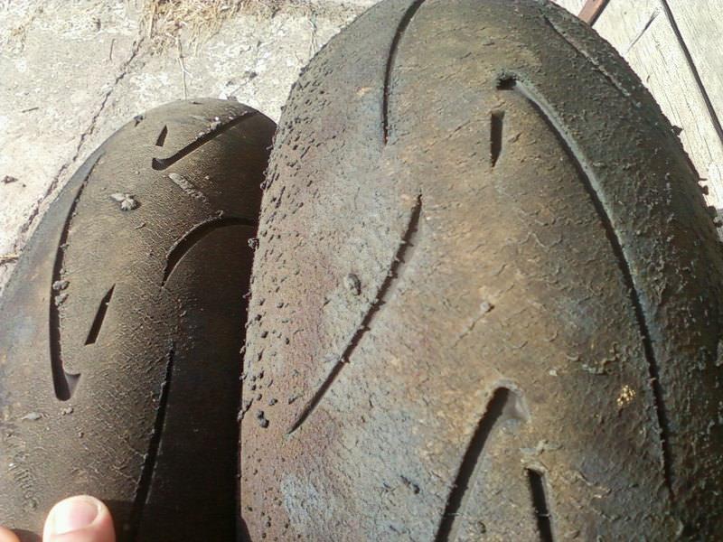Cambio pneumatici moto