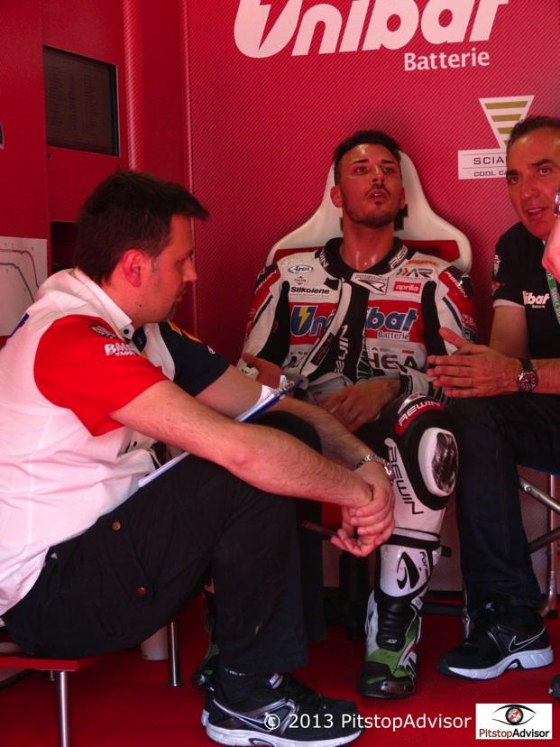 Giugliano @ SBK Monza 2013-s 2