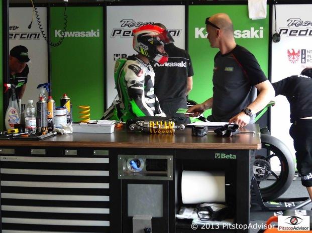 Lai - Team Pedercini @ SBK Monza 2013-s