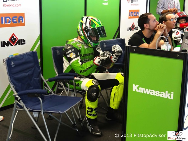 Sandi Team Pedercini @ SBK Monza 2013-s