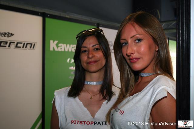 Ele & Grace @ SBK Monza 2 OK