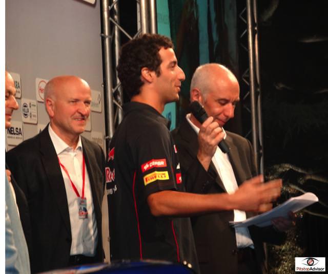 10. Daniel Ricciardo - Toro Rosso - Monza GP F1 2013