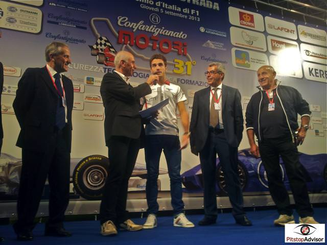 7. Jules Bianchi - Marussia - Monza GP F1 2013