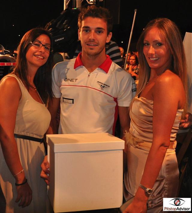 8. Jules Bianchi - Marussia - Monza GP F1 2013