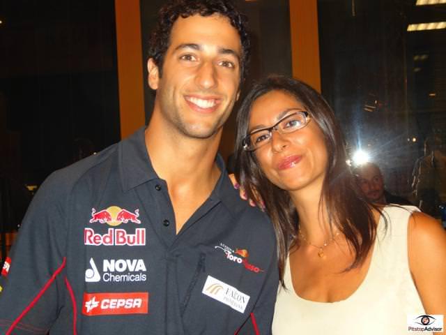 9. Daniel Ricciardo - Toro Rosso - Monza GP F1 2013