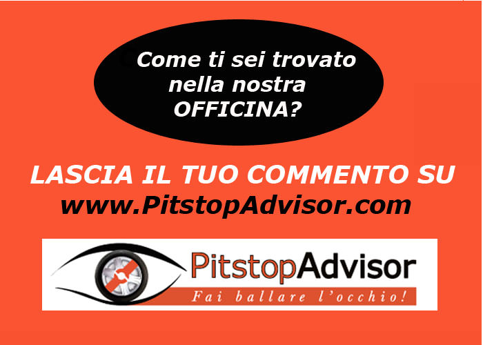 Cartello PitstopAdvisor x OFFICINE