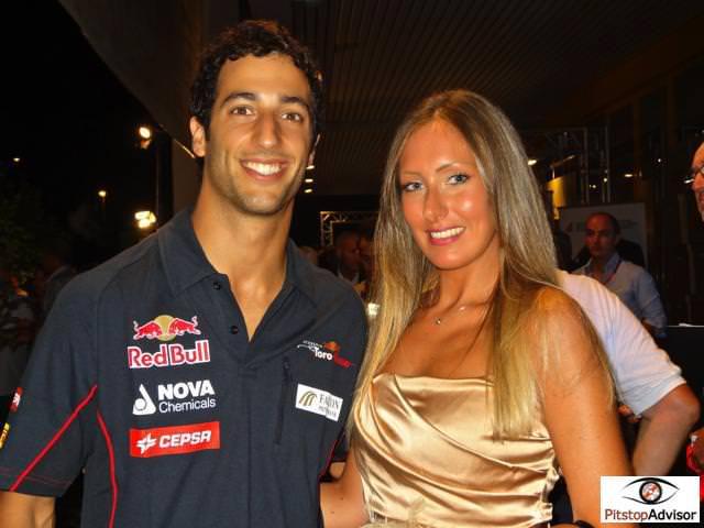 Daniel Ricciardo a Monza 2013