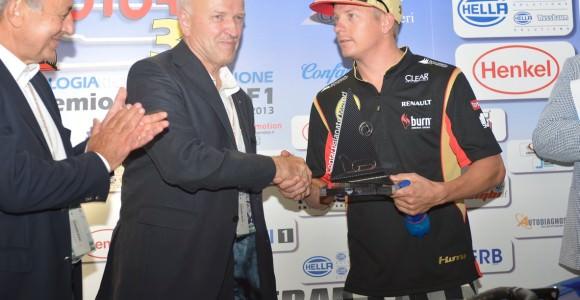 Kimi Raikkonen premiato da Confartigianato a Monza