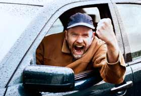 automobilitsta arrabbiato