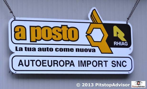Officina auto a Como - Autoeuropa Import  - A Posto