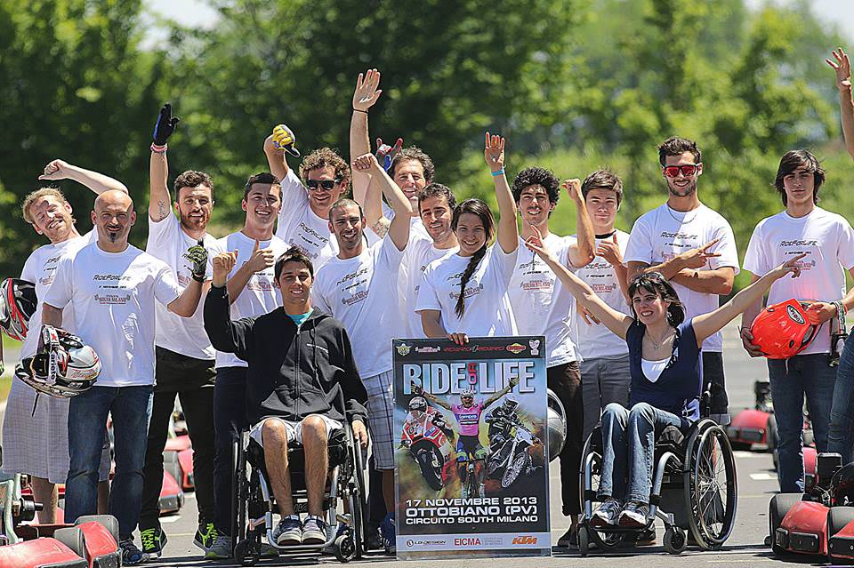 Ride for Life 2013_foto di gruppo - Moto, divertimento e… beneficenza!