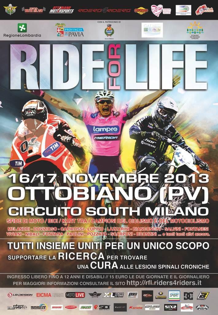 Ride for life, moto, divertimento e… beneficenza!