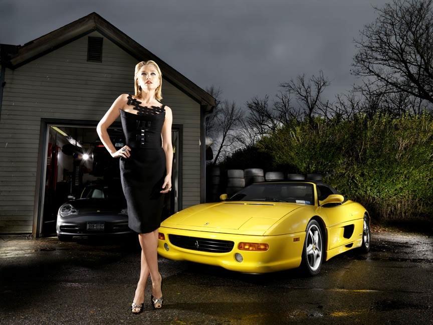 Donne e Motori, le foto migliori! – Una super officina