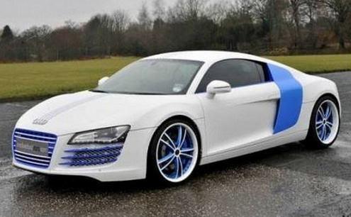 I 5 calciatori con le auto più brutte (FOTO)-Stephen Ireland-Audi-R8