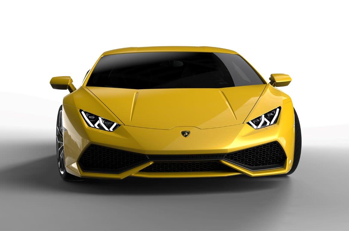 Lamborghini Huracan, fari led