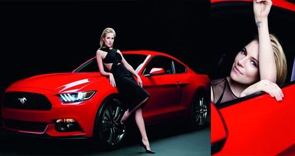 Donne e Motori, le foto migliori! – Ford Mustang e Sienna Miller