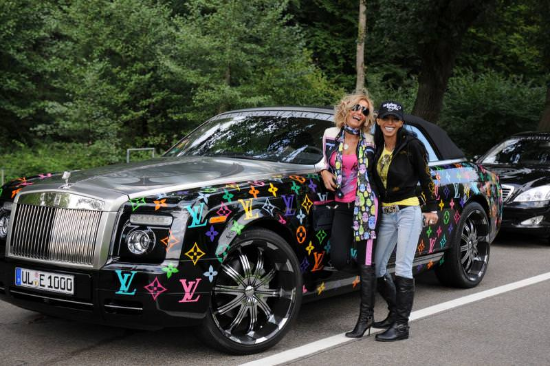 Donne e Motori, le foto migliori! – Wrapping auto Louis Vuitton