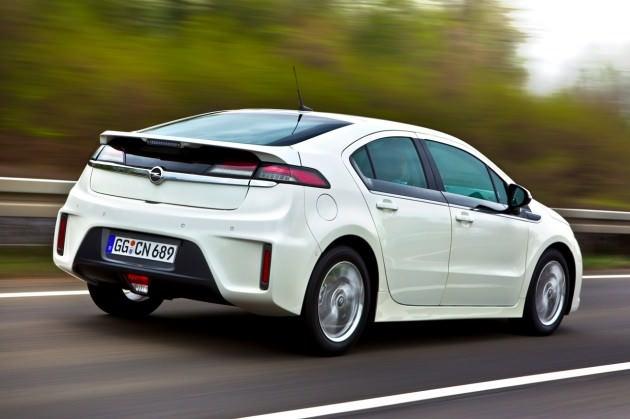 Opel Ampera - Elettrica 6