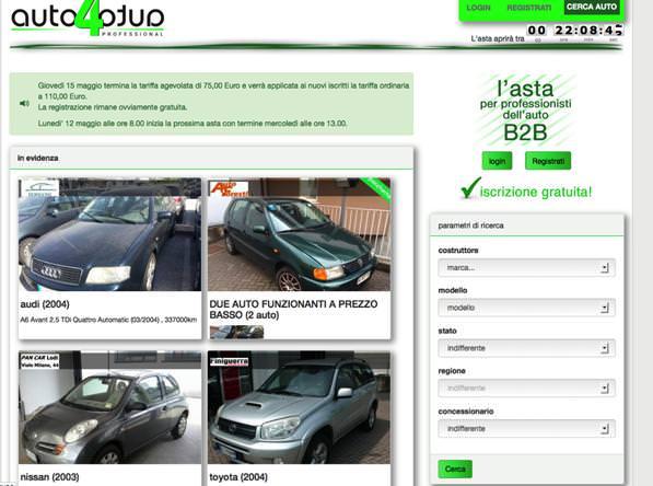 Aste auto? Trova le migliori aste online su Auto 4 Auto.- 2