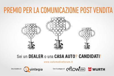 Automotive Forum 2014- premio per la comunicazione post vendita