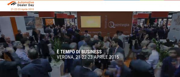 Automotive Dealer Day 2015, a Verona dal 21 al 23 Aprile.
