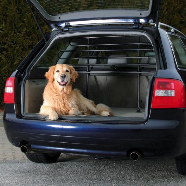 Rete auto per animali, come montare una griglia divisoria per cani