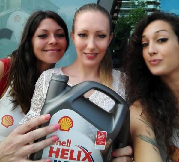 Shell Helix- è partito il tour Shellfie & Win