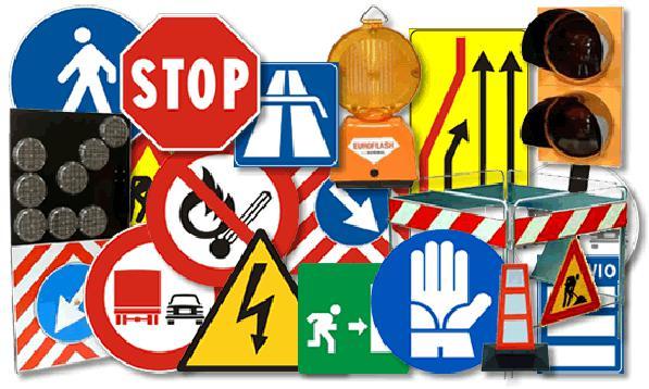 Cartelli stradali, riconoscere i segnali stradali verticali, orizzontali e manuali