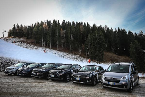 Auto e neve- sei modelli di auto 2015:2016 a confronto 1