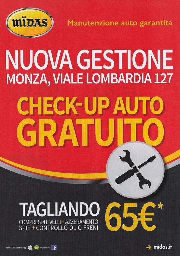 Officina a Monza? Scegli Midas in viale Lombardia!