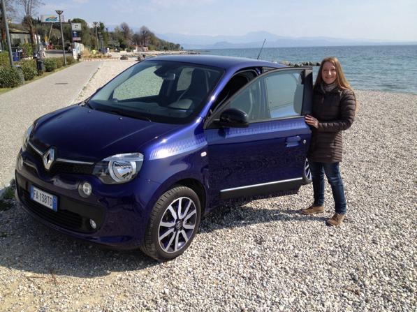 Renault Twingo Lovely - ecco la prova di Paola 1