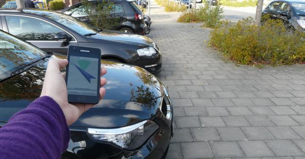 Trovare l'auto parcheggiata? Facilissimo, basta un'app!