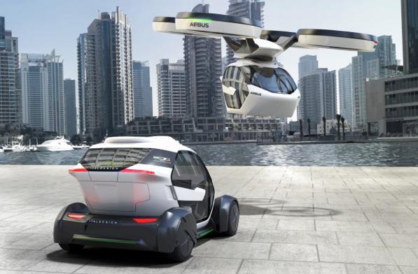 Auto che diventa drone: la macchina del futuro si chiama Pop.Up