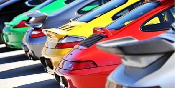 Colori auto: i più venduti in Europa in base al segmento