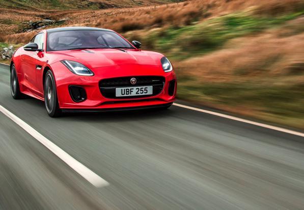 Nuova Jaguar F-Type Coupé 2017: vuoi provarla? – Test Drive