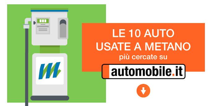 Auto usate a metano: le 10 macchine più cercate online