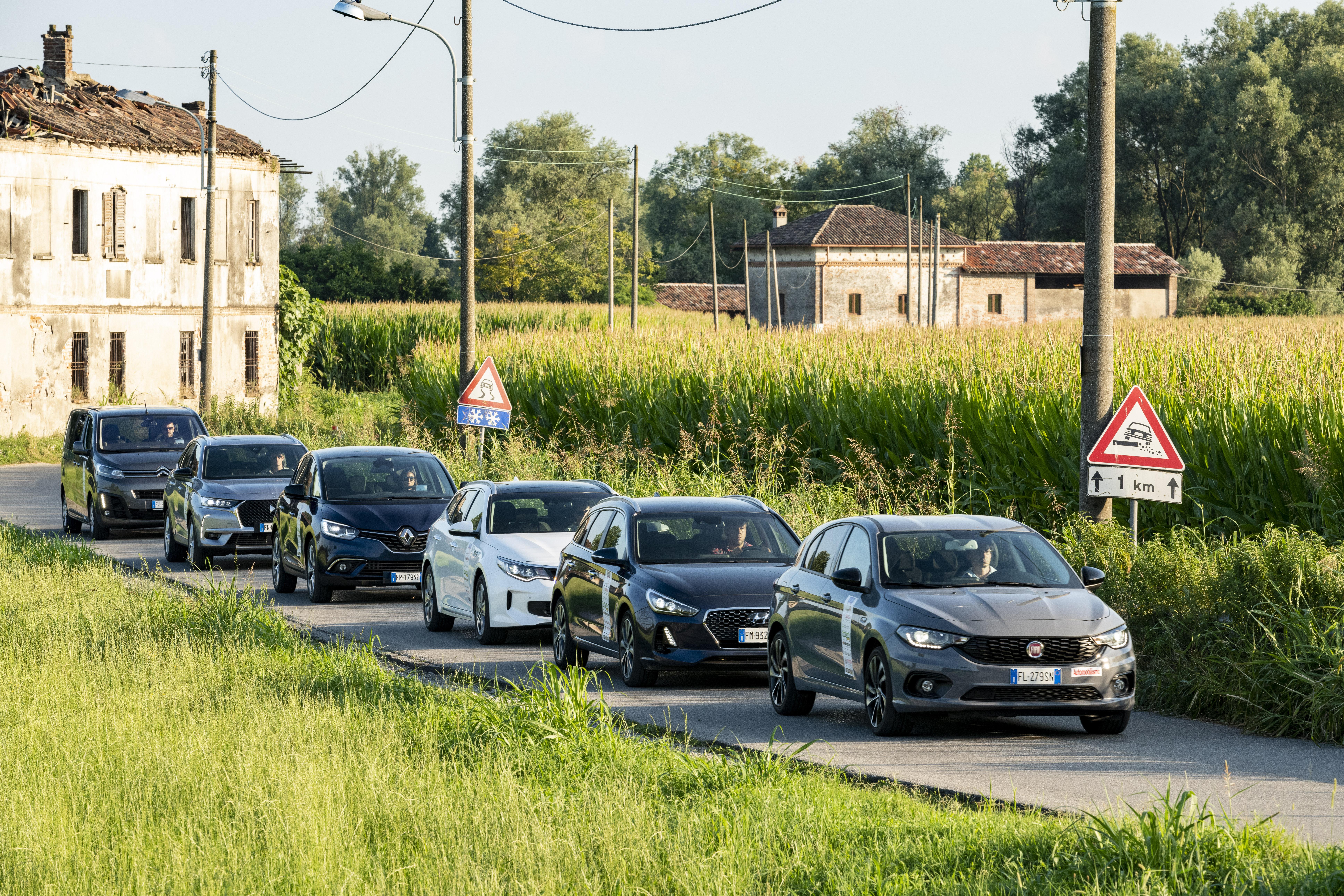 Auto a noleggio: guida all'acquisto dei 6 modelli in prova - Test Drive [Speciale]