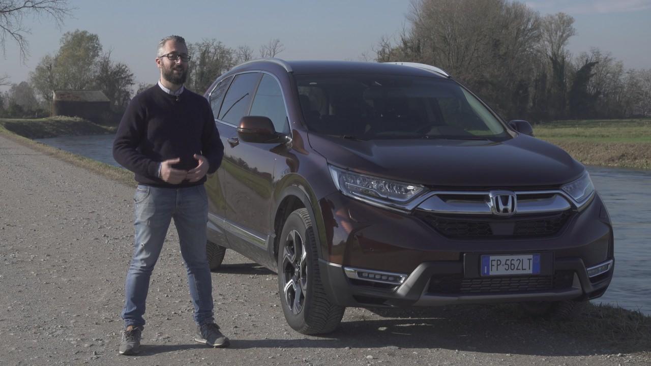 Honda CrV 2018: ecco la prova di Andrea – Test Drive 2