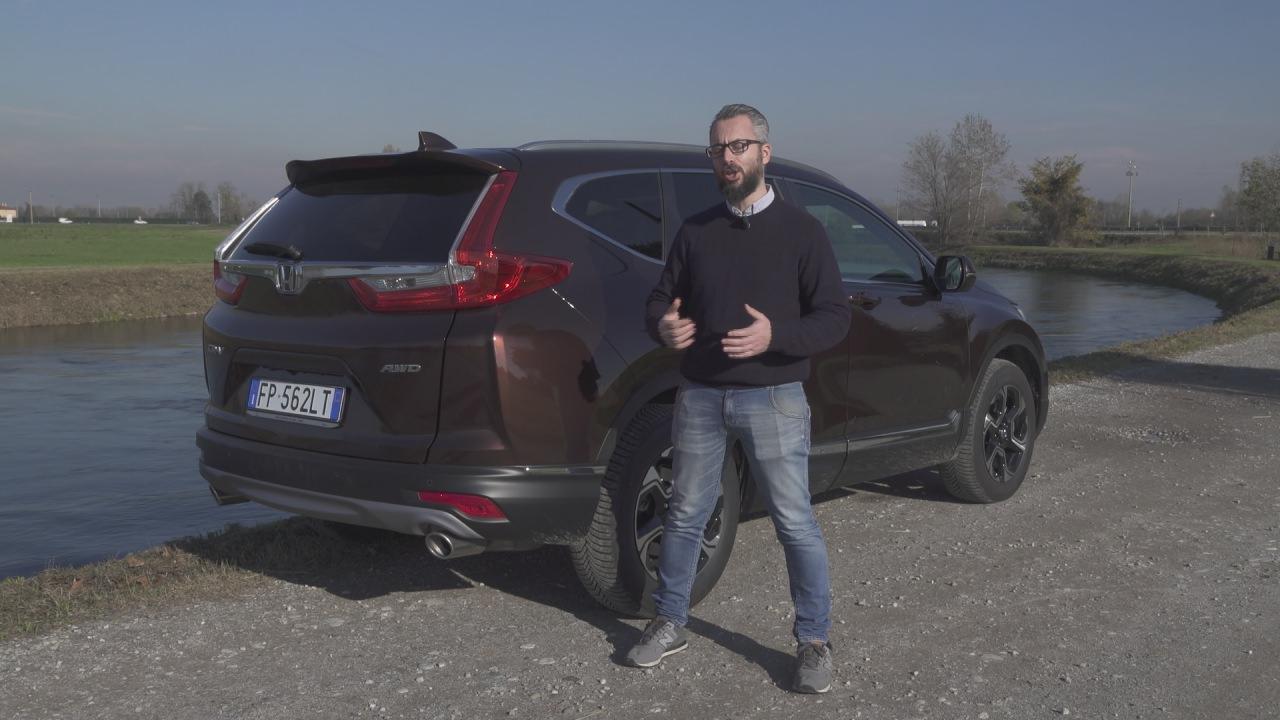 Honda CrV 2018: ecco la prova di Andrea – Test Drive 3