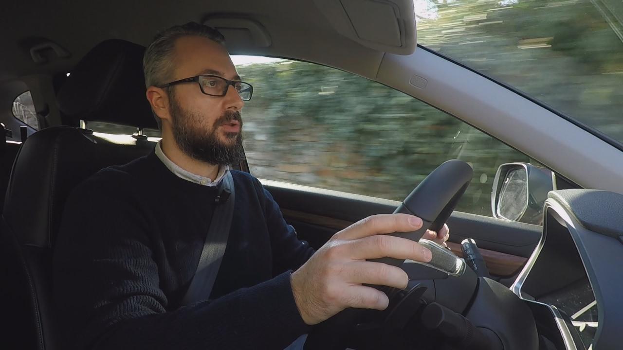 Honda CrV 2018: ecco la prova di Andrea – Test Drive