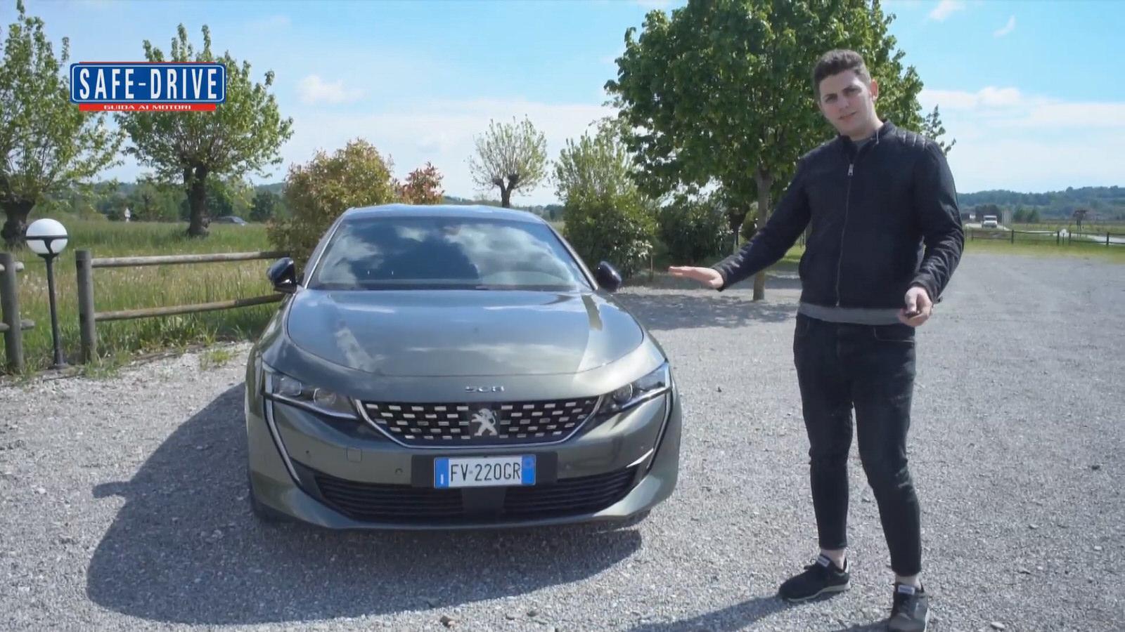 Peugeot 508: ecco la prova su strada di Alessandro – Test Drive