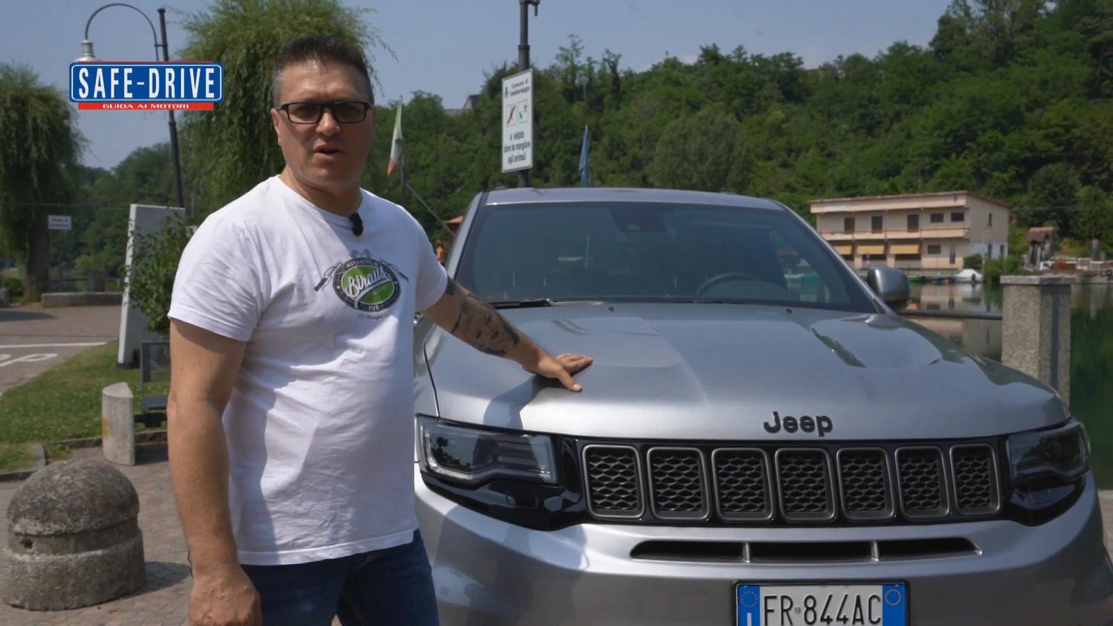 Jeep Grand Cherokee Trackhawk: ecco la prova su strada di Stefano – Test Drive 2